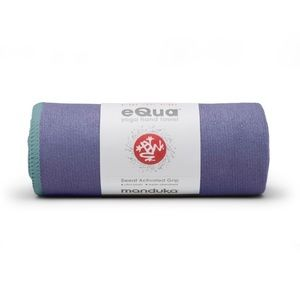 Manduka eQua Yoga Hand Towel in Purple